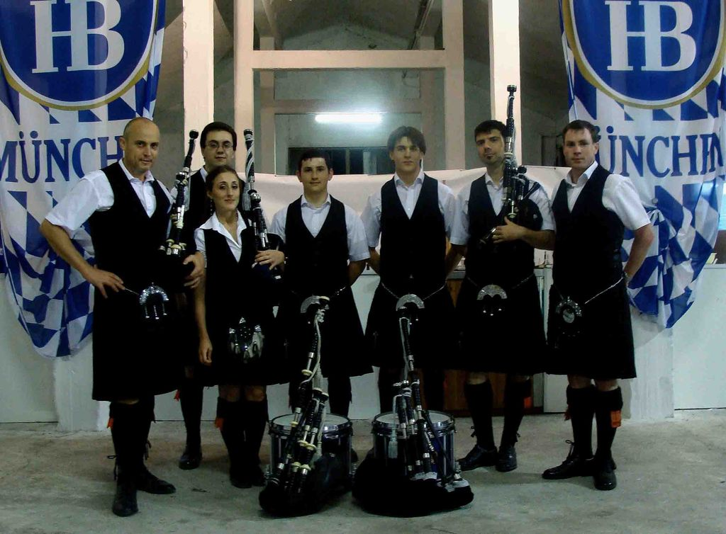 Cape Breton Pipe Band - giugno 09